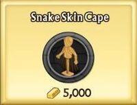 Snake Skin Cape