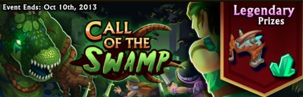 Call of the Swamp Banner