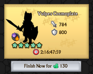 Vulpes Cosmoplate Crafting