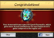 Epoch Platemail Plus Armor Unlock