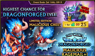 Malicious Chest Banner
