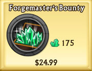 Forgemaster's Bounty Update