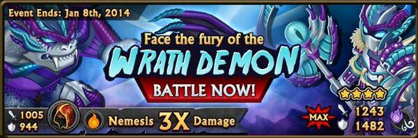Wrathdemon banner