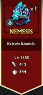 Kaito's Nemesis Reward