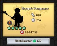 Dryope's Vengeance Crafting