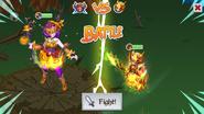 Jacquelantern Boss Battle