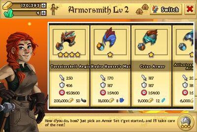 Armor List
