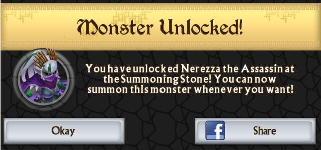 File:Nerezza the Assassin unlocked at Summoning Stone.jpg