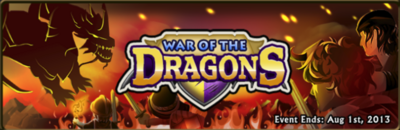 War of the dragons banner