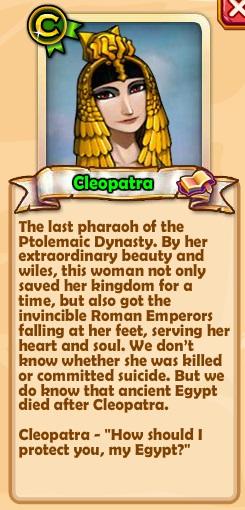 Cleopatra Text