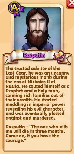 Rasputin Text