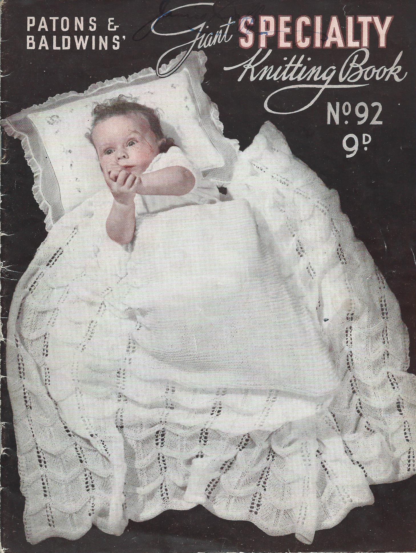 Patons Knitting Pattern Archive : Image - Patons 92.jpg Knitting and Crochet Pattern Archive Wiki FANDOM po...