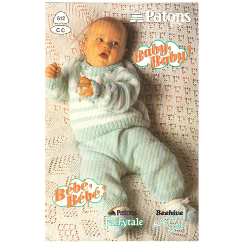 Patons Beehive No. 612 Baby Baby! Knitting and Crochet Pattern Archive Wiki...