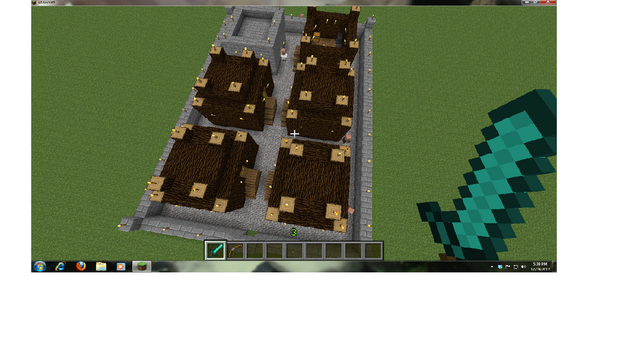 File:Viliage, Minecraft.png