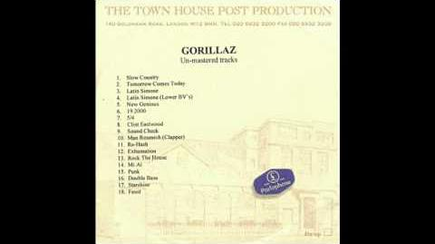 Gorillaz - Sound Check (Gravity) (Unmastered)