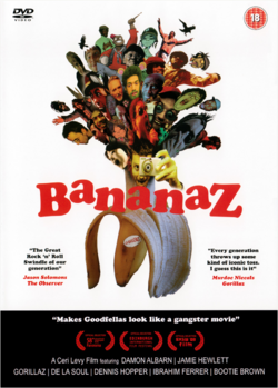 Bananaz DVD front cover