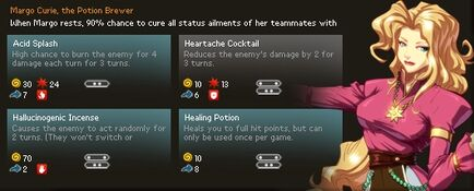Margo Curie Stats