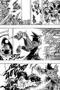 Enjou brother throwing molotov at Akira