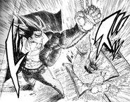 Akira defeat Lieutenant