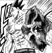 Yuu stabbing Akira