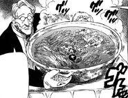 Gokurou serving food