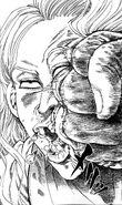 Akira crushing Harito