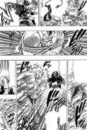 Yuu catching Gamu and Raionji hitting him with Katsu attacks