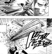 Akira saving Hinako