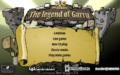 99 Bricks the Legend of Garry Main Menu.png