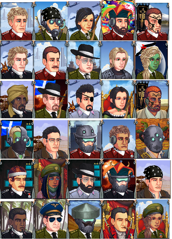 Battalion Arena Avatars 3
