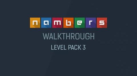Nambers - Walkthrough Level Pack 3-1