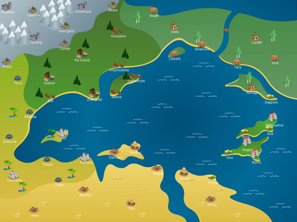 Feud II World Map