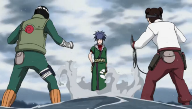 File:Tenten and Rock Lee vs Guren.png