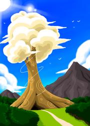 CloudTreeByKaritenokoinugami