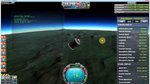 Kerbal Space Program (KSP) - kOS Scriptable Autopilot System Mod v0.5 - Rover Skycrane demo