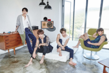CNBLUE 2gether group promo photo 2