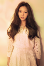 OH MY GIRL Hyojung Windy Day photo