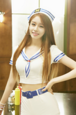 T-ARA Jiyeon So Good promotional photo