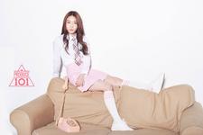 Produce 101 Chungha promotional photo