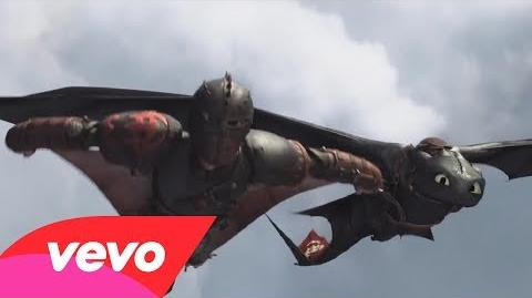 """Where No One Goes"" (How To Train Your Dragon 2) Official Lyric Video"