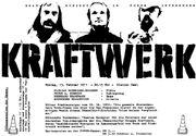 KraftwerkConcertPoster15 02 1971