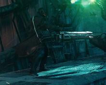 Khan and his Boolean gun