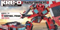 Instructions Sentinel Prime