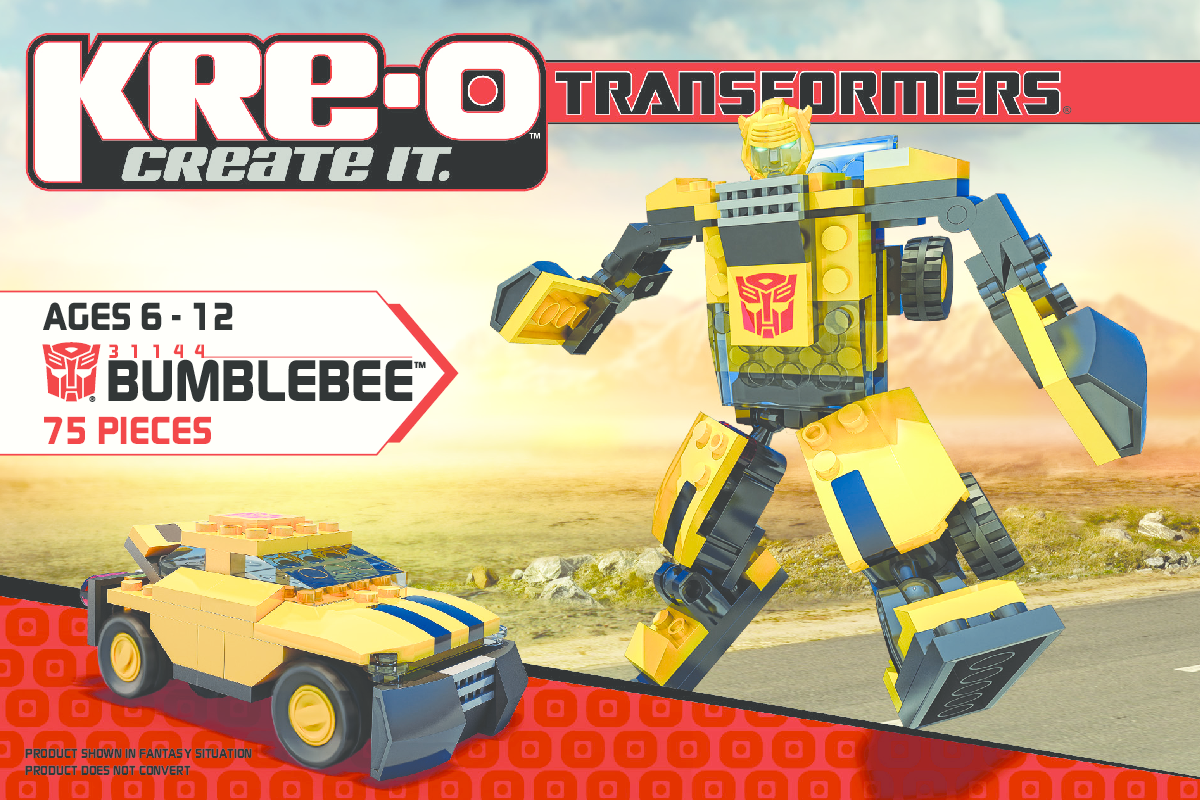 Kreo Battleship Instructions - Instructions bumblebee 31144
