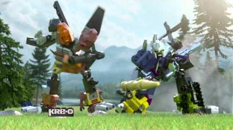 KRE-O Transformers Micro Changers and Combiners Construction Sets TV Commercial