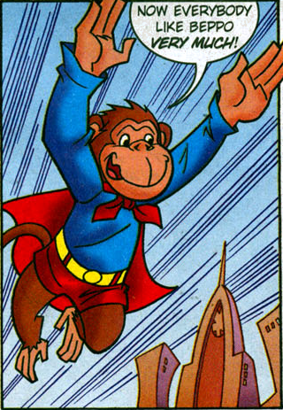 File:Beppo from Krypto the Superdog Issue 6.png