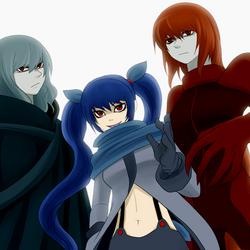 1-39 Sagara and her bodyguards