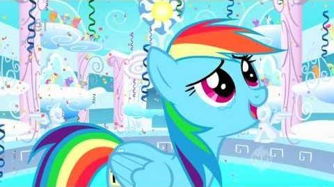 My Little Pony - Rainbow Dash - You're Gonna Go Far Kid