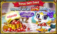 Blueberry Sable - Bonus Gem Event