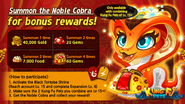 Noble Cobra - Rewards